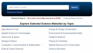 Science.gov searching
